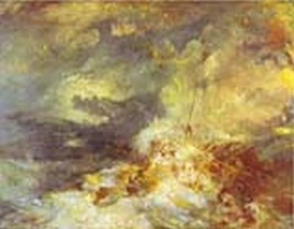 Fire at sea 1835 xx tate gallery london uk